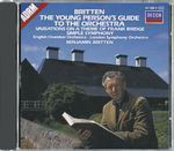 CD Guida del giovane all'orchestra - Simple Symphony - Variazioni su un tema di Bridge di Benjamin Britten