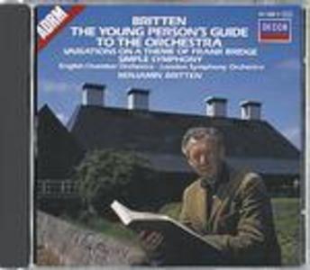 CD Guida del giovane all'orchestra - Simple Symphony - Variazioni su un tema di Bridge di Benjamin Britten