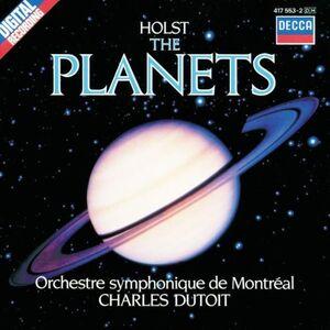 Foto Cover di I pianeti (The Planets), CD di Gustav Holst,Charles Dutoit, prodotto da Decca