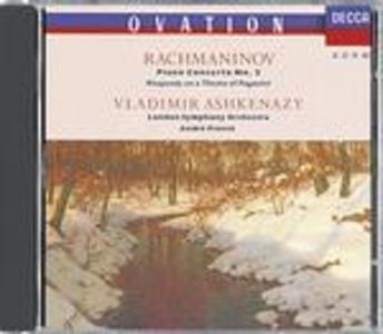 CD Concerto per pianoforte n.2 - Rapsodia su un tema di Paganini di Sergei Vasilevich Rachmaninov