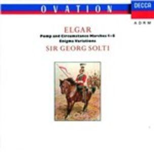 Foto Cover di Variazioni Enigma - Pomp & Circumstance Marches - Cockaigne Overture, CD di Edward Elgar,Chicago Symphony Orchestra, prodotto da Decca