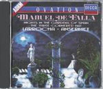 Foto Cover di Notti nei giardini di Spagna - Il cappello a tre punte (El sombrero de tres picos), CD di AA.VV prodotto da Decca