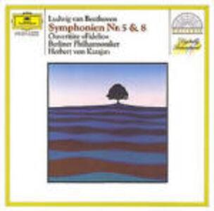 CD Sinfonie n.5, n.8 di Ludwig van Beethoven