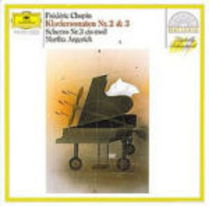 CD Sonate per pianoforte n.2, n.3 - Scherzo n.3 di Fryderyk Franciszek Chopin