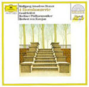 CD Concerti per corno di Wolfgang Amadeus Mozart