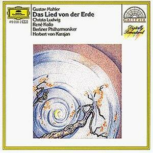 Il canto della terra (Das Lied von der Erde) - CD Audio di Gustav Mahler,Herbert Von Karajan,Berliner Philharmoniker