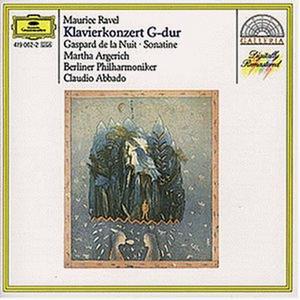 CD Concerto per pianoforte - Gaspard de la nuit - Sonatina per pianoforte di Maurice Ravel