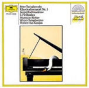 CD Concerto per pianoforte n.1 / Selezione Preludi op.23 e op.32 Sergei Vasilevich Rachmaninov , Pyotr Il'yich Tchaikovsky