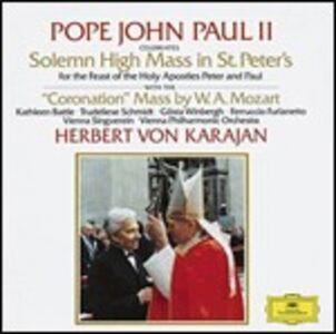 Foto Cover di Messa dell'incoronazione, CD di AA.VV prodotto da Deutsche Grammophon