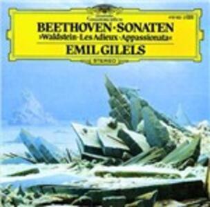 Sonate per pianoforte n.21, n.26, n.23 - CD Audio di Ludwig van Beethoven,Emil Gilels
