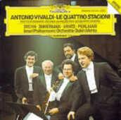 CD Le quattro stagioni Antonio Vivaldi Itzhak Perlman Zubin Mehta