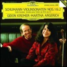 Sonate per violino - CD Audio di Robert Schumann,Martha Argerich,Gidon Kremer