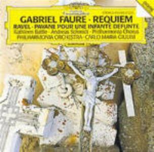 Requiem / Pavane pour une Infante défunte - CD Audio di Maurice Ravel,Gabriel Fauré