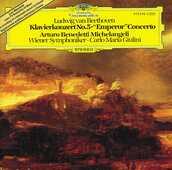 CD Concerto per pianoforte n.5 Ludwig van Beethoven Carlo Maria Giulini Arturo Benedetti Michelangeli