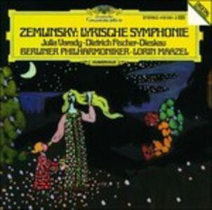 Foto Cover di Sinfonia lirica, CD di Alexander Von Zemlinsky,Berliner Philharmoniker, prodotto da Deutsche Grammophon