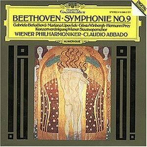 Sinfonia n.9 - CD Audio di Ludwig van Beethoven,Claudio Abbado,Wiener Philharmoniker