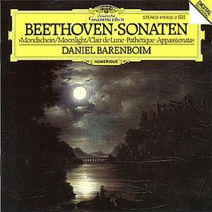 Sonate per pianoforte n.14, n.8, n.23 - CD Audio di Ludwig van Beethoven,Daniel Barenboim