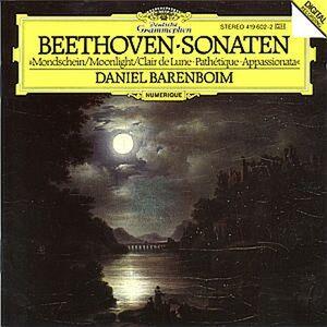 CD Sonate per pianoforte n.14, n.8, n.23 di Ludwig van Beethoven