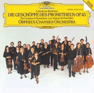 CD Le creature di Prometeo op.43 di Ludwig van Beethoven