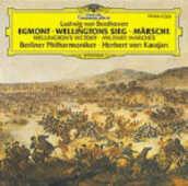CD La vittoria di Wellington - Ouverture Egmont - Marce Ludwig van Beethoven Herbert Von Karajan Berliner Philharmoniker