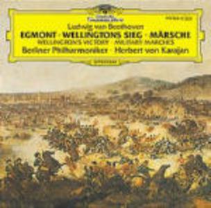 CD La vittoria di Wellington - Ouverture Egmont - Marce di Ludwig van Beethoven