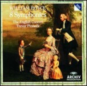 CD 8 Sinfonie di William Boyce