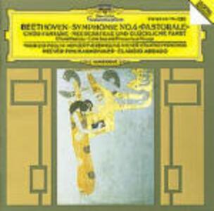 Sinfonia n.6 - Fantasia corale op.80 - Calma di mare op.112 - CD Audio di Ludwig van Beethoven,Claudio Abbado
