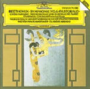 Foto Cover di Sinfonia n.6 - Fantasia corale op.80 - Calma di mare op.112, CD di Ludwig van Beethoven,Claudio Abbado, prodotto da Deutsche Grammophon