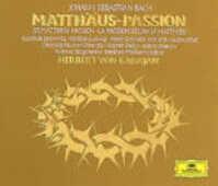 CD La Passione secondo Matteo Johann Sebastian Bach Herbert Von Karajan Christa Ludwig