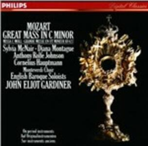 Messa in Do minore - CD Audio di Wolfgang Amadeus Mozart,Diana Montague,Sylvia McNair,Anthony Rolfe Johnson,John Eliot Gardiner,English Baroque Soloists