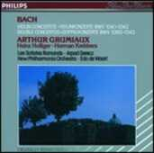 CD Concerti per violino Johann Sebastian Bach Arthur Grumiaux New Philharmonia Orchestra