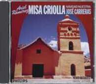 CD Misa Criolla José Carreras Alexander Sergei Ramirez