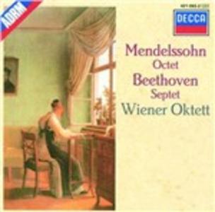 CD Ottetto - Settimino Ludwig van Beethoven , Felix Mendelssohn-Bartholdy