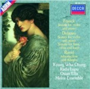 CD Sonate Claude Debussy , Maurice Ravel , César Franck