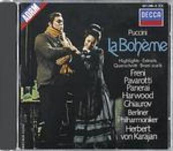 La Bohème - CD Audio di Luciano Pavarotti,Mirella Freni,Nicolai Ghiaurov,Giacomo Puccini,Herbert Von Karajan,Berliner Philharmoniker