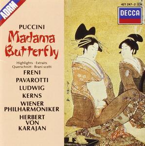 Madama Butterfly - CD Audio di Luciano Pavarotti,Mirella Freni,Christa Ludwig,Giacomo Puccini,Herbert Von Karajan,Wiener Philharmoniker