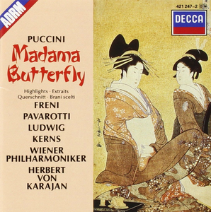 CD Madama Butterfly di Giacomo Puccini