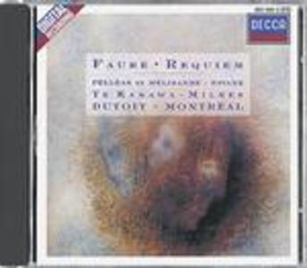 CD Requiem - Pelléas et Mélisande - Pavane di Gabriel Fauré