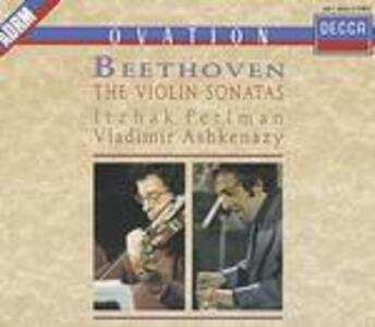 Sonate per violino complete - CD Audio di Ludwig van Beethoven,Itzhak Perlman,Vladimir Ashkenazy