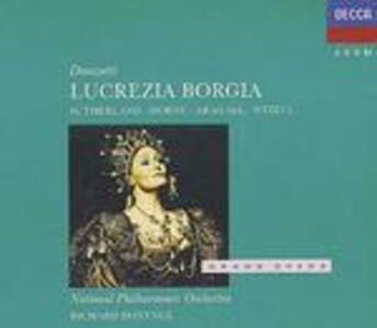 Lucrezia Borgia - CD Audio di Gaetano Donizetti,Marilyn Horne,Joan Sutherland,Richard Bonynge,National Philharmonic Orchestra