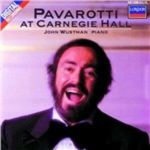 CD Pavarotti at Carnegie Hall