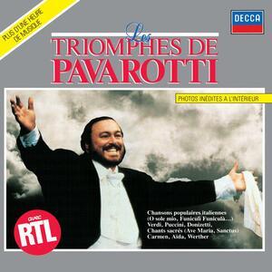 Les Triomphes - CD Audio di Luciano Pavarotti