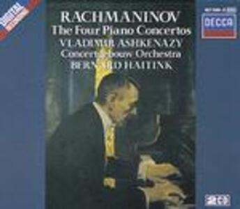 Concerti per pianoforte completi - CD Audio di Sergej Vasilevich Rachmaninov,Bernard Haitink,Vladimir Ashkenazy,Royal Concertgebouw Orchestra