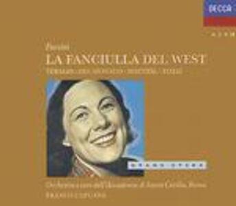 CD La fanciulla del West di Giacomo Puccini