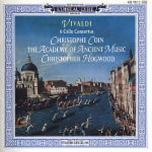 CD Concerti per violoncello di Antonio Vivaldi