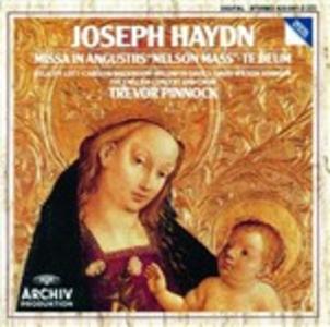 CD Missa in angustiis - Te Deum di Franz Joseph Haydn