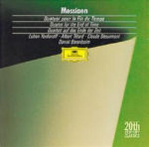 CD Quartetto per la fine del tempo (Quatuor pour la fin du temps) di Olivier Messiaen