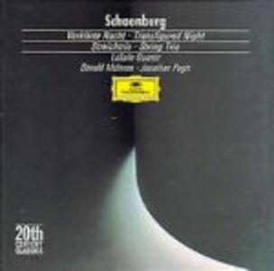 CD Notte trasfigurata (Verklärte Nacht) - Trio per archi di Arnold Schönberg