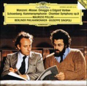 Foto Cover di Masse. Omaggio a Edgard Varèse / Sinfonia da camera op.9, CD di AA.VV prodotto da Deutsche Grammophon