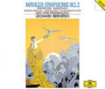 Sinfonia n.2 - CD Audio di Leonard Bernstein,Gustav Mahler,Barbara Hendricks,Christa Ludwig,New York Philharmonic Orchestra